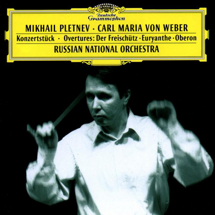 Weber: Konzertstück; Overtures: Der Freischütz · Euryanthe · Oberon 0028945348623