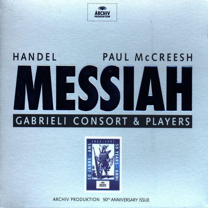 Handel: Messiah HWV56 0028945346425