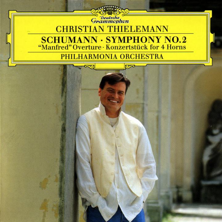 """Sinfonie Nr. 2 C-dur op. 61; """"Manfred"""" Ouvertüre op. 115; Konzertstück F-dur op. 86 0028945348221"""