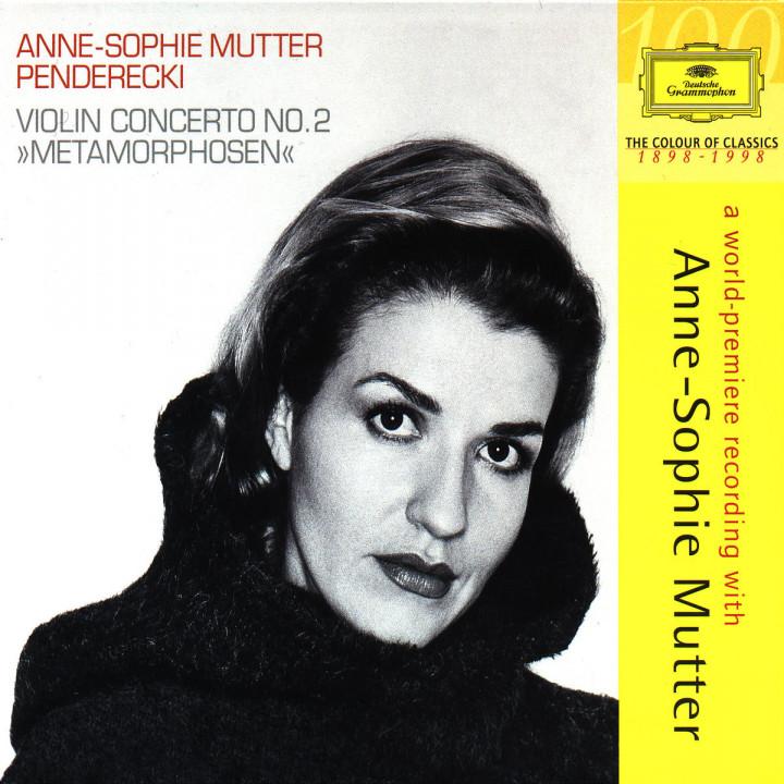 "Penderecki: Violinkonzert Nr. 2 ""Metamorphosen""; Violinsonate Nr. 2"
