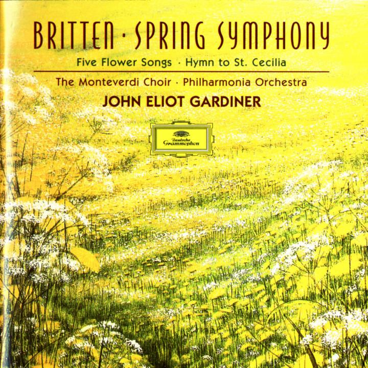 Frühlingssinfonie; Hymne zu St. Cecilia 0028945343329