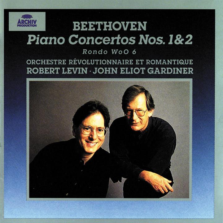 Klavierkonzerte Nr. 1 C-dur op. 15 & Nr. 2 B-dur op. 19; Rondo für Klavier und Orchester B-dur WoO 6 0028945343824