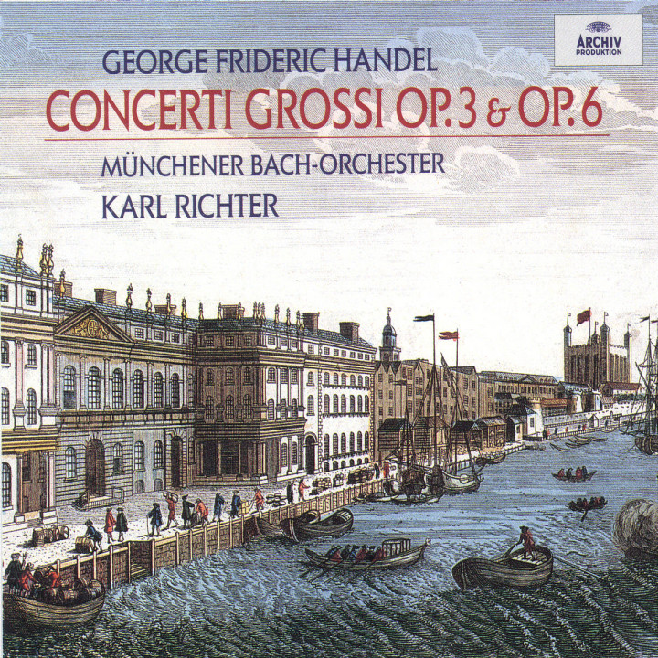 Handel: Concerti Grossi opp. 3 & 6 0028945324922