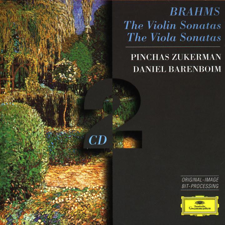 Brahms: The Violin Sonatas; The Viola Sonatas 0028945312123