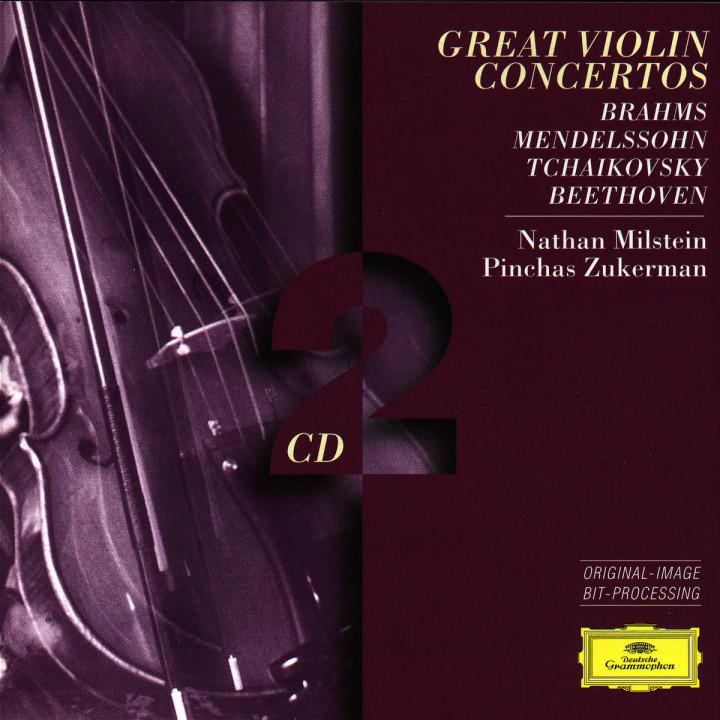 Brahms / Mendelssohn / Tchaikovsky / Beethoven: Great Violin Concertos 0028945314228