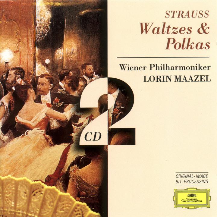 Strauss, Johann & Josef:: Waltzes & Polkas 0028945305226