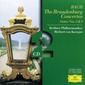Johann Sebastian Bach, Die Brandenburgischen Konzerte, Ouvertüren Nr. 2 und Nr. 3, 00028945300122