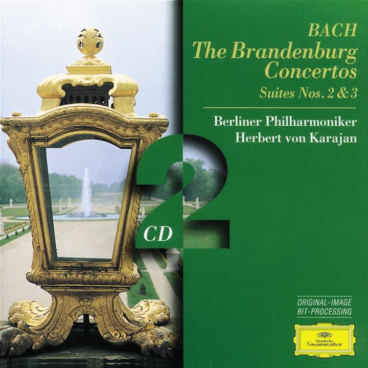 Die Brandenburgischen Konzerte; Ouvertüren Nr. 2 und Nr. 3 0028945300128