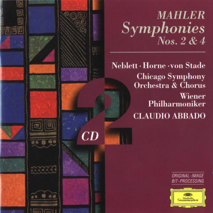 Mahler: Symphonies Nos.2 & 4 0028945303729