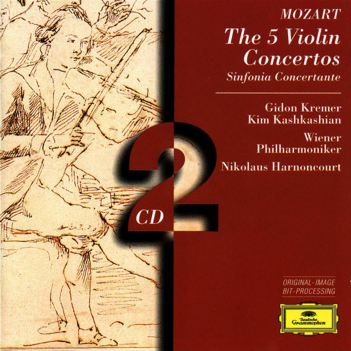 Mozart: The 5 Violin Concertos; Sinfonia Concertante 0028945304328