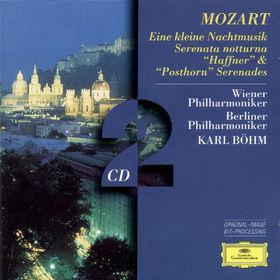 Die Berliner Philharmoniker, Mozart, W.A.: Eine kleine Nachtmusik, Serenatas notturna,  Haffner & Posthorn, 00028945307626