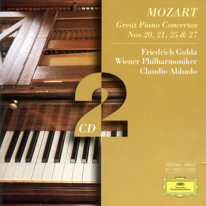 Mozart, W.A.: Piano Concertos Nos.20, 21, 25 & 27 0028945307929