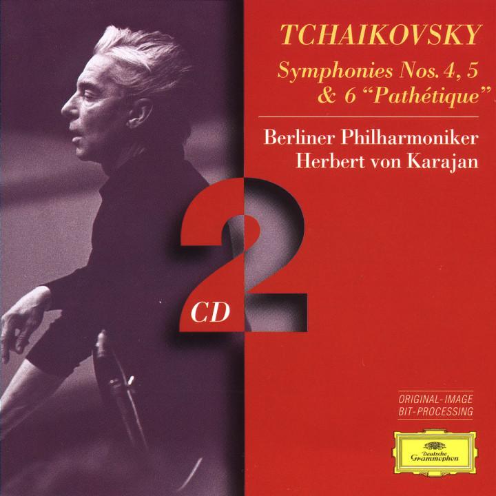 """Tchaikovsky: Symphonies Nos.4, 5 & 6 """"Pathétique"""" 0028945308827"""