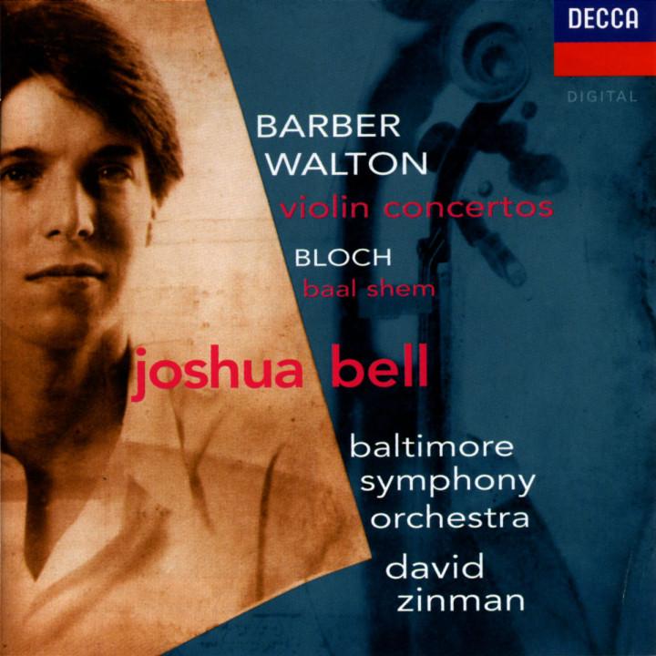 Barber / Walton: Violin Concertos / Bloch: Baal Shem 0028945285126