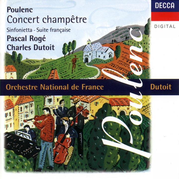 Concert champetre; Sinfonietta; Suite francaise 0028945266523