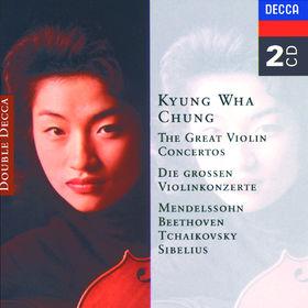 Jean Sibelius, The Great Violin Concertos - Mendelssohn, Beethoven, Tchaikovsky, Sibelius, 00028945232522
