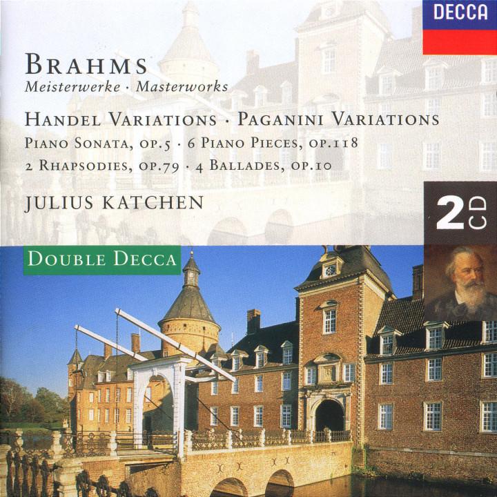 Brahms: Handel Variations; Brahms: Handel Variations; Paganini Variations; Piano Sonata No.3, etc. 0028945233820