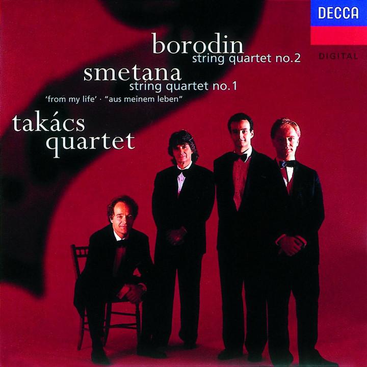 """Borodin/Smetana: String Quartet No.2/String Quartet No.1 """"From My Life"""" 0028945223920"""