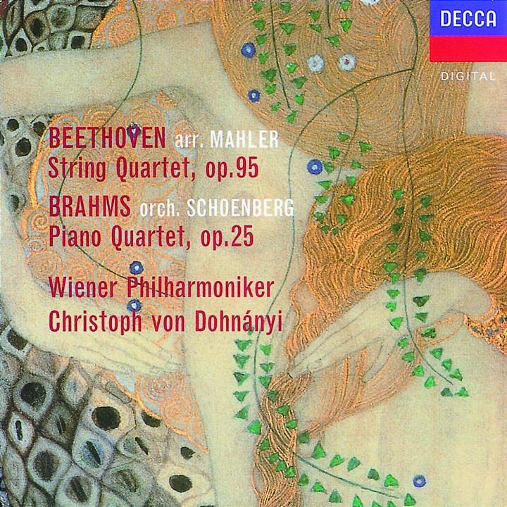 Orchesterbearbeitungen von Kammermusik 0028945205029