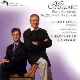 Wolfgang Amadeus Mozart, Klavierkonzerte Nr. 22 Es-dur KV 482&Nr. 23 A-dur KV 488, 00028945205229