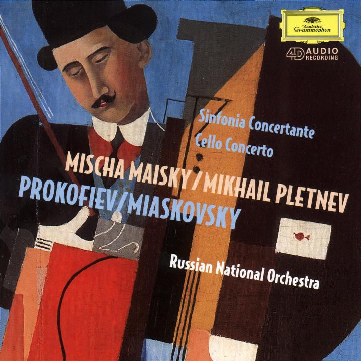Sinfonia Concertante; Violoncellokonzert c-moll op. 66 0028944982127