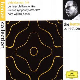 Hans Werner Henze, Sinfonien Nr. 1-6, 00028944986129