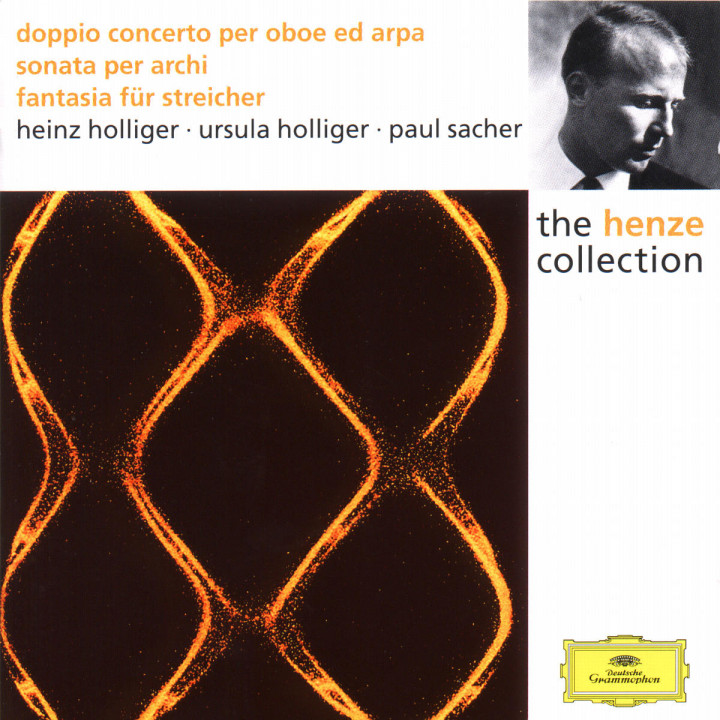 Henze: Double Concerto for Oboe, Harp and Strings; Sonata for Strings; Fantasia for Strings 0028944986420