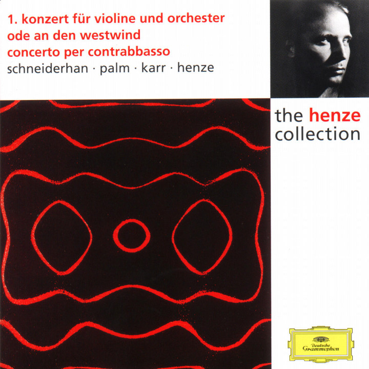 Konzert für Violine und Orchester Nr. 1; Ode an den Westwind; Concerto per contrabasso 0028944986523