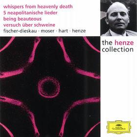 Hans Werner Henze, Whispers From Heavenly Death; 5 Neapolitanische Lieder; Being Beauteous; Versuch über Schweine, 00028944986921