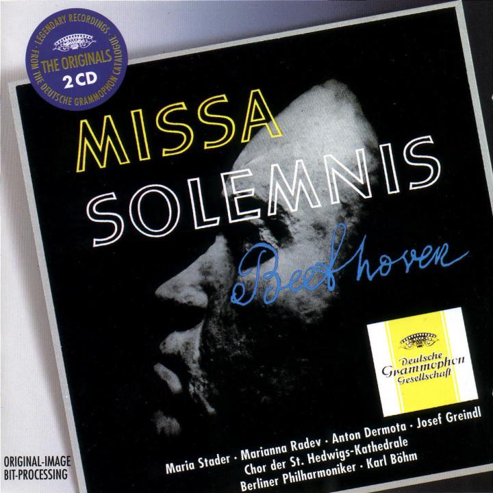 Missa Solemnis D-dur op. 123; Mozart-Variationen op. 132 0028944973723