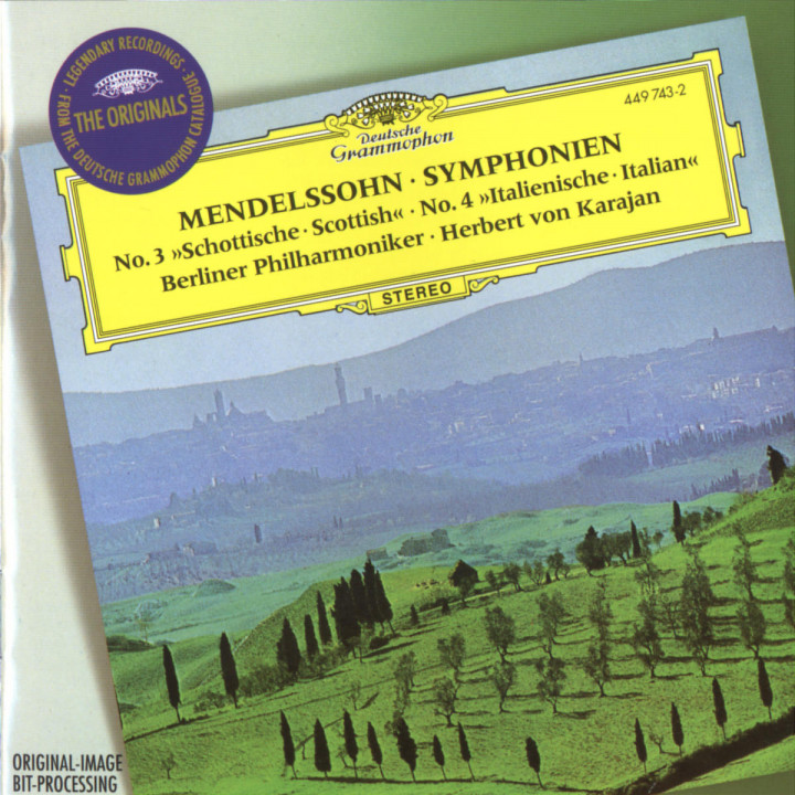 "Mendelssohn: Symphonies Nos.3 ""Scottish"" & 4 ""Italian""; Overture ""The Hebrides"" 0028944974322"