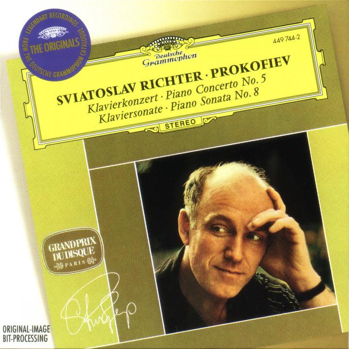 Prokofiev: Piano Concerto No.5; Piano Sonata No.8 0028944974425