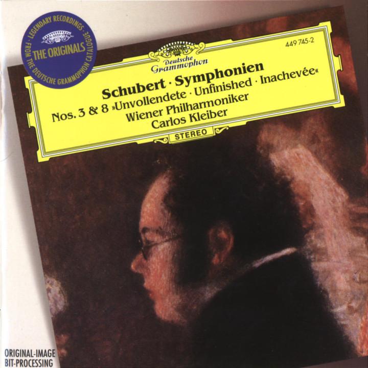 "Schubert: Symphonies Nos.3 & 8 ""Unfinished"" 0028944974528"