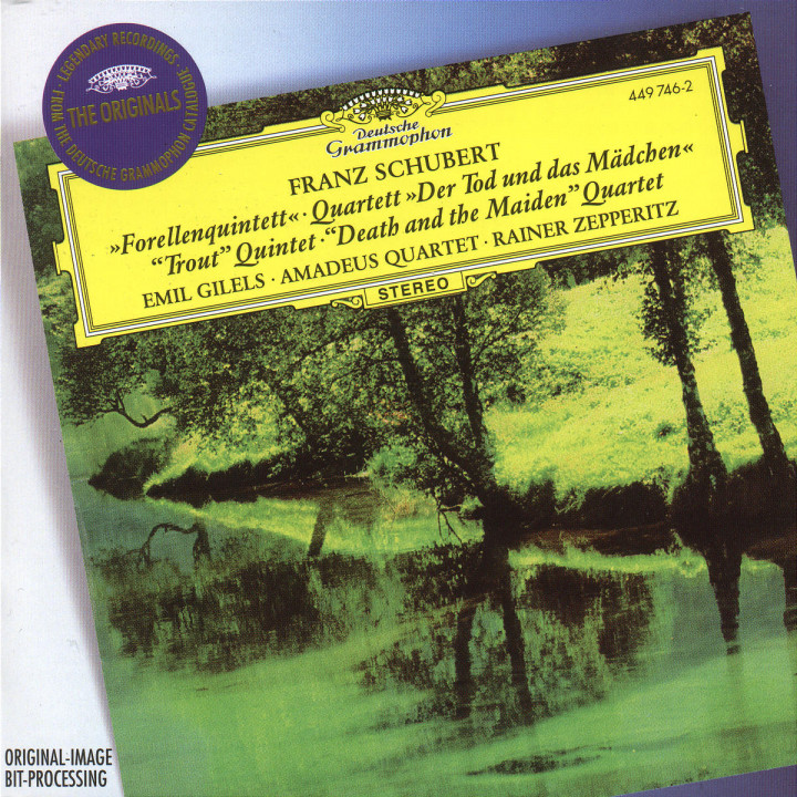 "Schubert: Piano Quintet ""The Trout""; String Quartet ""Death and the Maiden"" 0028944974621"
