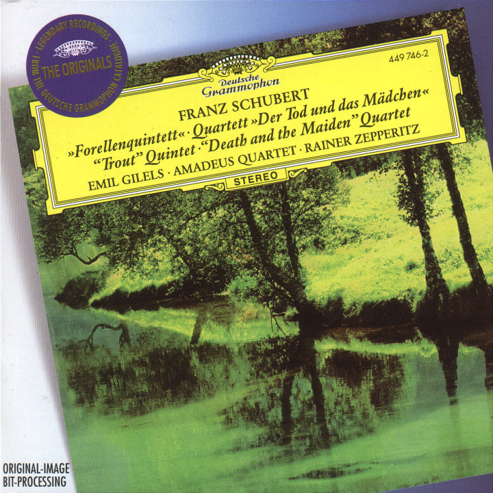 """Schubert: Piano Quintet """"The Trout""""; String Quartet """"Death and the Maiden"""" 0028944974621"""