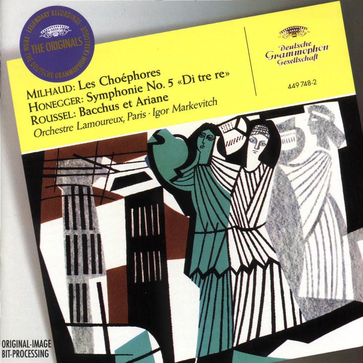 Les Choéhores; Sinfonie Nr. 5 (Di tre re); Bacchus et ariane 0028944974827
