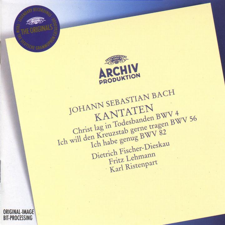 Kantaten BWV 4; 56 & 82 0028944975622