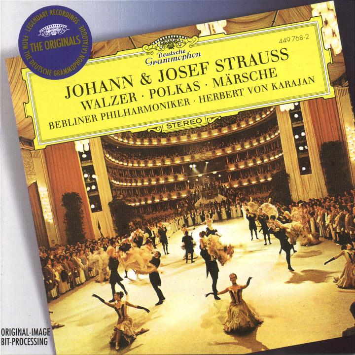 Strauss, J.II & Josef: Walzer; Polkas; Märsche 0028944976829