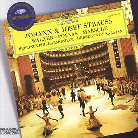 The Originals, Strauss, J.II & Josef: Walzer, Polkas, Märsche, 00028944976823