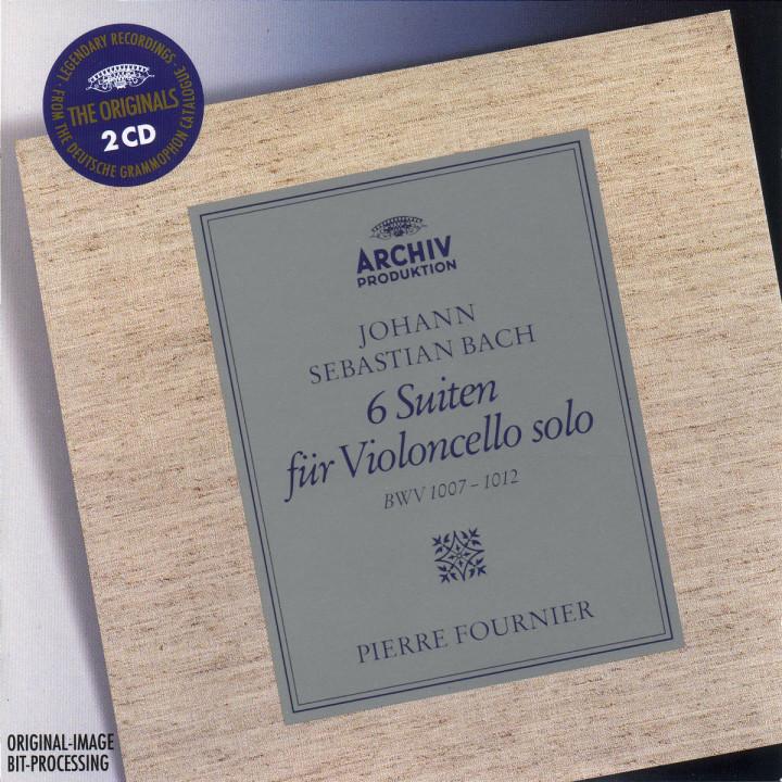 Bach: 6 Cello Suites BWV 1007, 1008, 1009, 1010, 1011 & 1012 0028944971123
