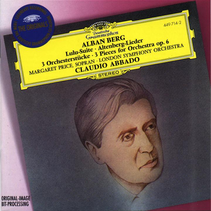 Berg: Lulu-Suite; Altenberg-Lieder; 3 Pieces for Orchestra Op.6 0028944971422