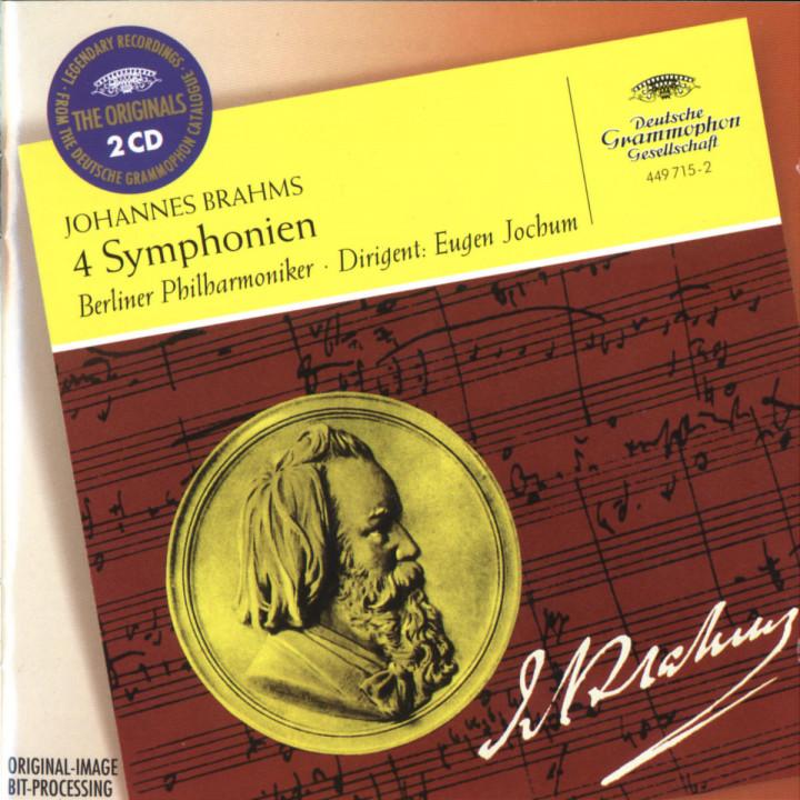 Brahms: Symphonies Nos.1 - 4 0028944971525