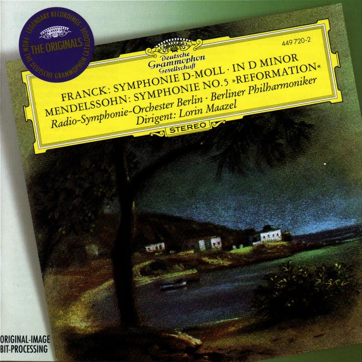 Franck: Symphony in D minor / Mendelssohn: Symphony No.5 0028944972021