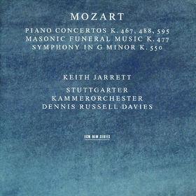 Keith Jarrett, Klavierkonzerte KV 467 488 & 595 -  Maurerische Trauermusik KV 477 -  Sinfonie in g-moll KV 550, 00028944967029