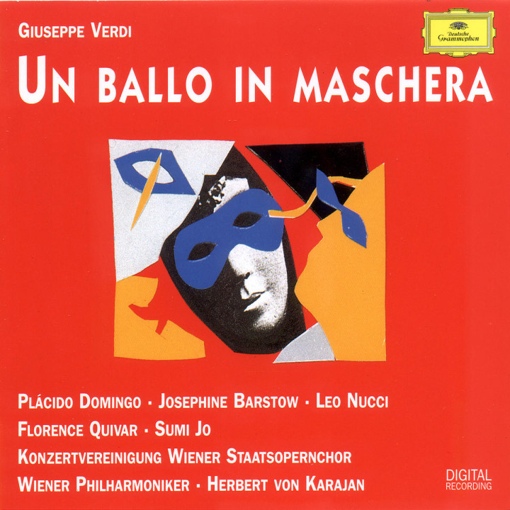 Verdi: Un Ballo in Maschera 0028944958825
