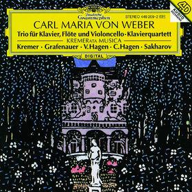 Carl Maria von Weber, Trio für Klavier; Klavierquartett, 00028944920925