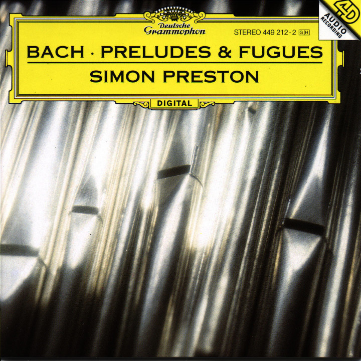 J.S. Bach: Preludes and Fugues 0028944921221