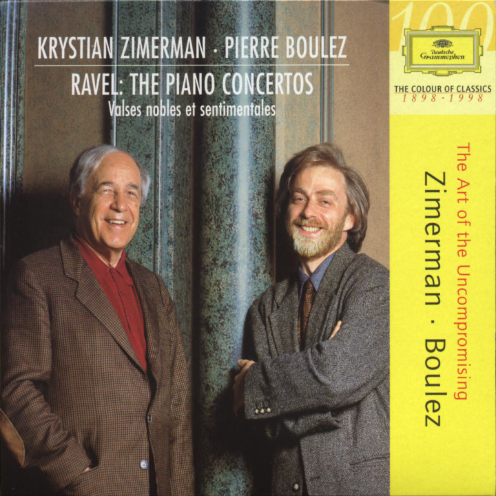 Die Klavierkonzerte; Valses Nobles et sentimentales 0028944921324