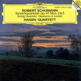 Robert Schumann, Streichquartette op. 41 Nr. 2 & Nr. 3, 00028944921427