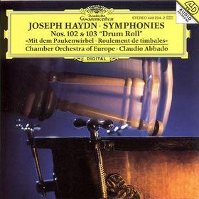 Joseph Haydn, Sinfonien Nr. 102 B-dur&Nr. 103 Es-dur mit dem Paukenwirbel, 00028944920420